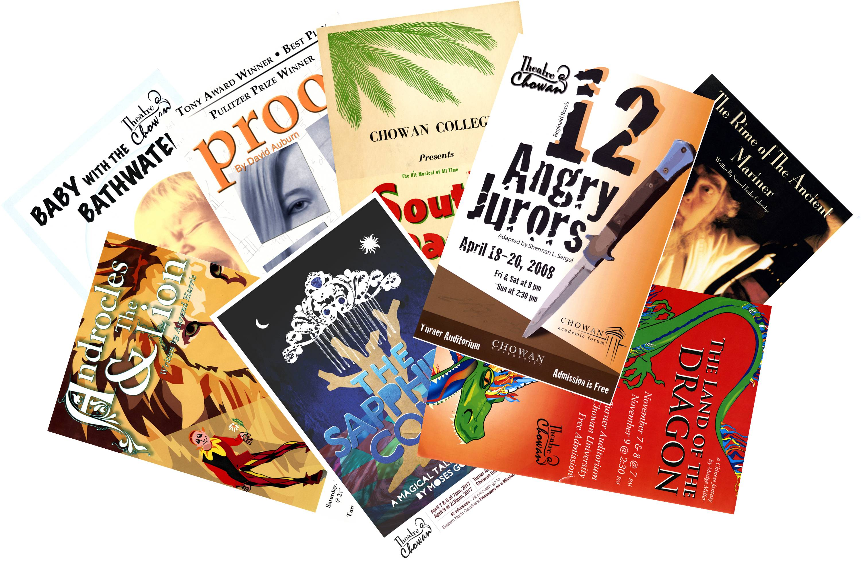Theater Poster Exhibition: The History of Theater at Chowan