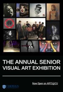 Senior Exhibit Poster Created by:Nicholas Adams
